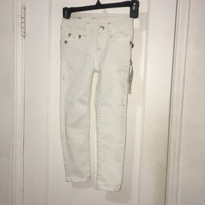 True Religion Girls White Jeans